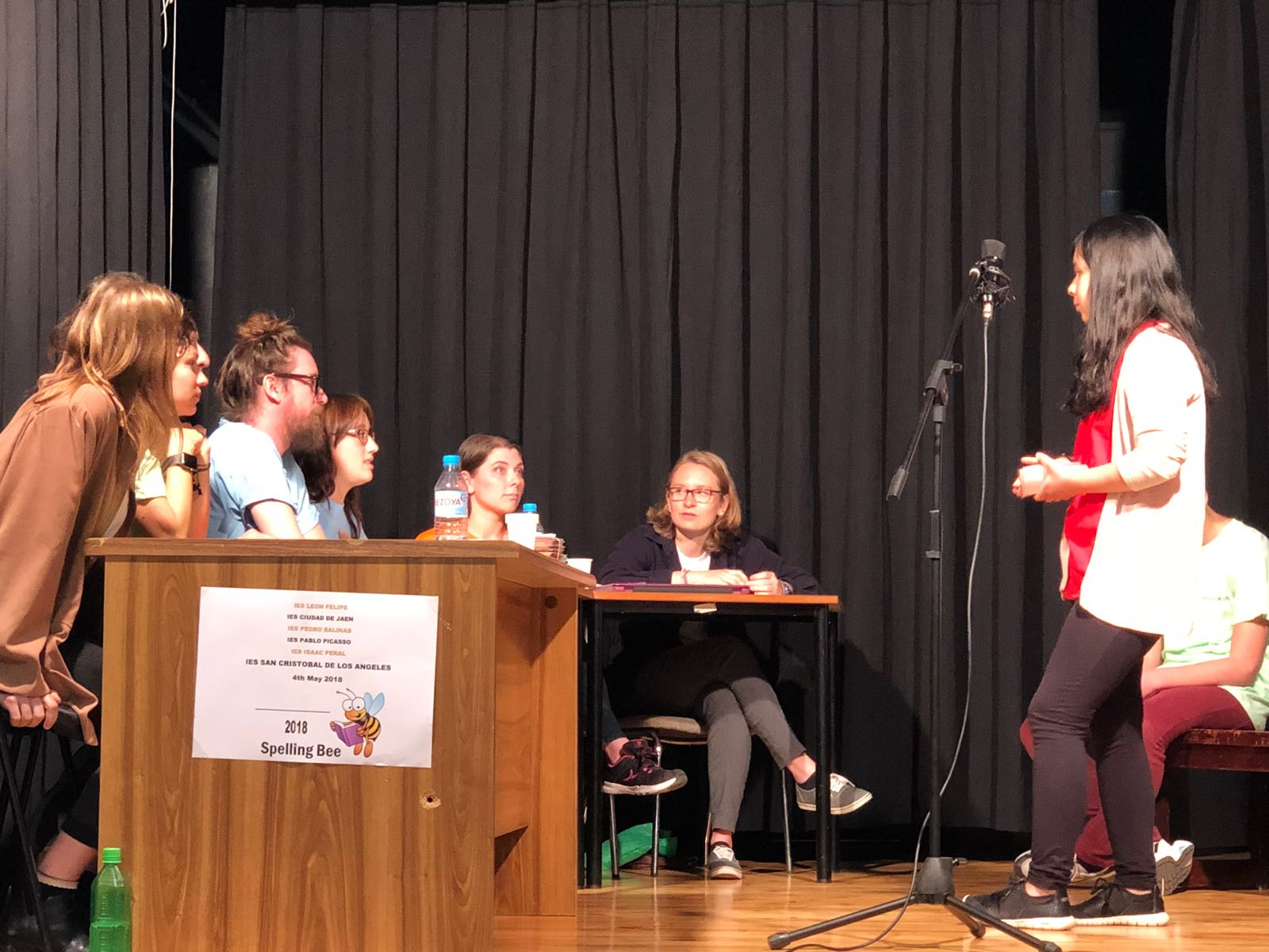 Imágenes del artículo: El IES Pedro Salinas en el Spelling Bee