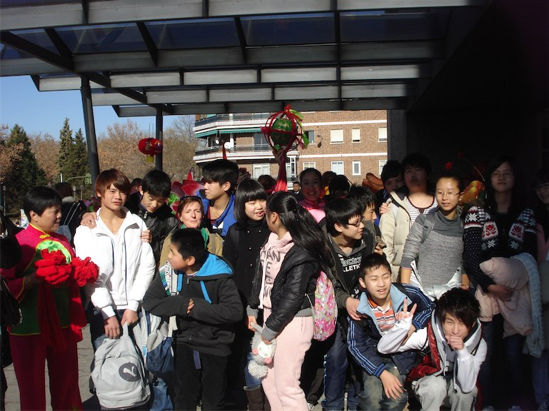 Imágenes del artículo: Desfile del año nuevo chino en Usera