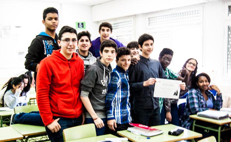 Imágenes del artículo: Aulas Amigas febrero de 2016
