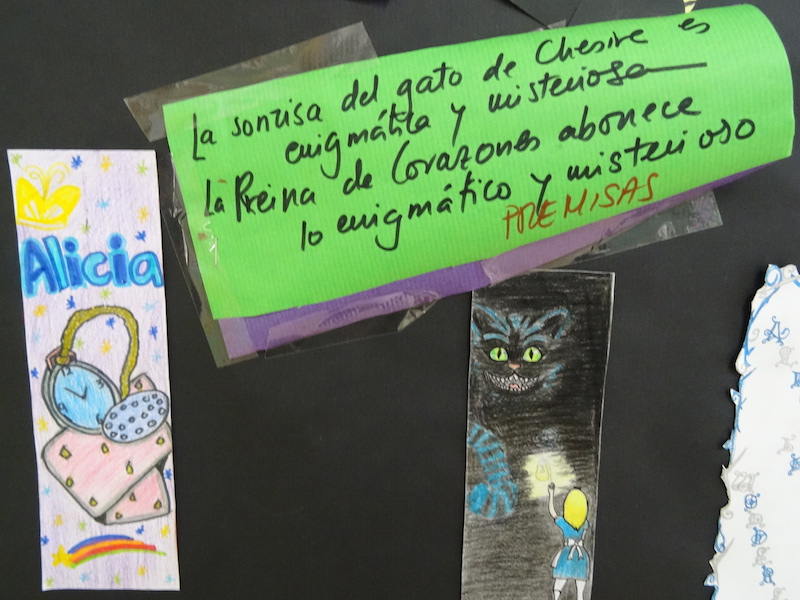 Imágenes del artículo: Día del libro, 23 de Abril de 2015 , Alicia en el País de las Maravillas