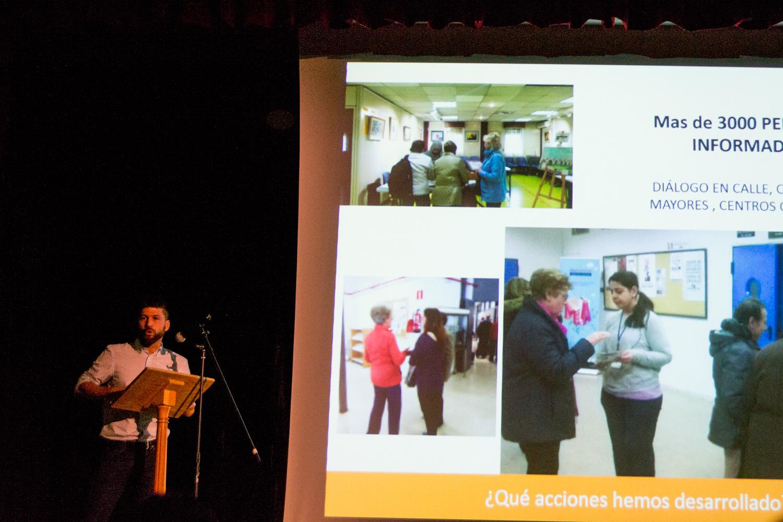 Imágenes del artículo: En la entrega de premios de la campaña Brilla Usera