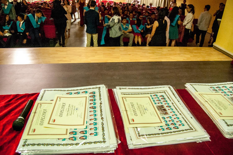 Imágenes del artículo: Graduación de 2º de Bachillerato