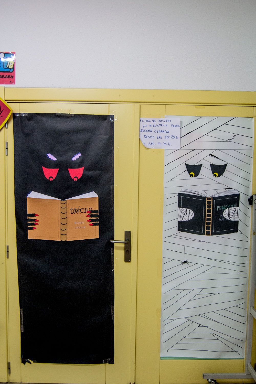 Imágenes del artículo: Un instituto de miedo