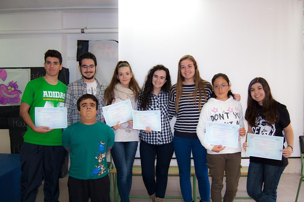 Imágenes del artículo: Entrega de calificaciones de los Proyectos de Bachillerato 2014-2015