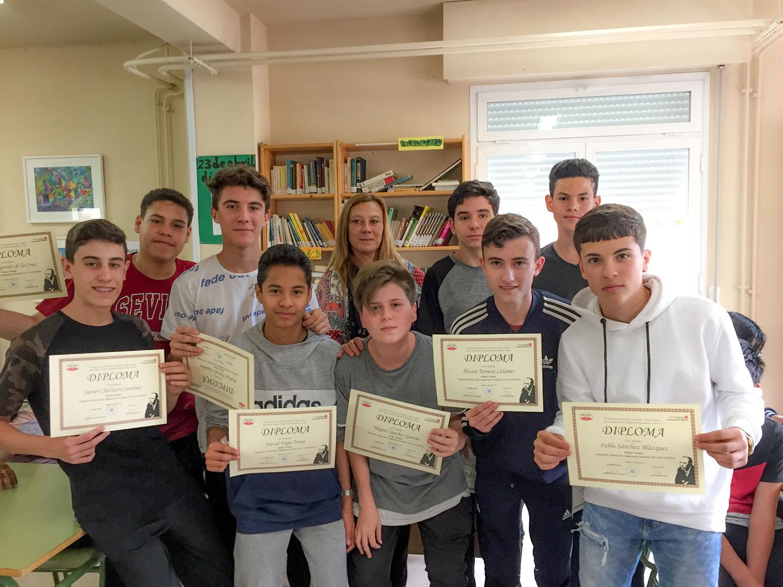 Imágenes del artículo: Entrega de premios curso 2017-2018