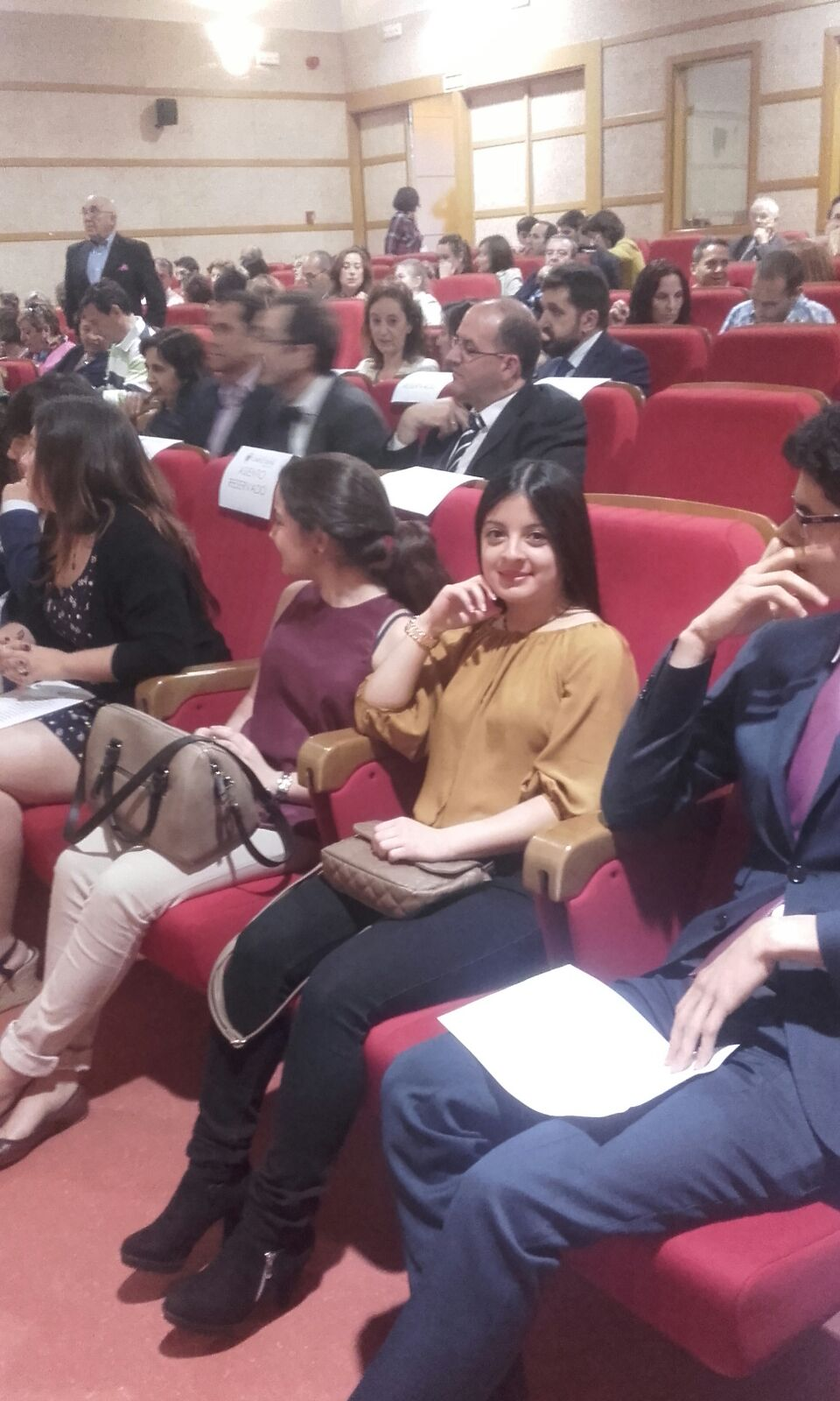 Imágenes del artículo: Entrega de premios del I Encuentro de Jóvenes Investigadores de la UCM