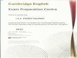 El Pedro Salinas, centro preparador de los exámenes de la Universidad de Cambridge