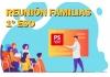 Reunión tutores/familias 1º ESO